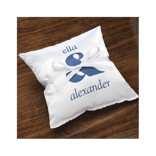 Checkerboard, Ltd Personalized Synergy Ring Pillow