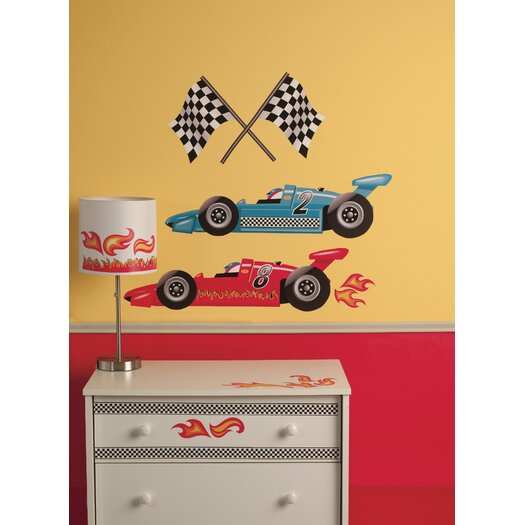 Peel & Stick Grand Prix Racing