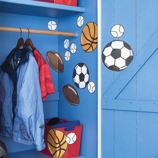 Wallies Sports Wallpaper Mural