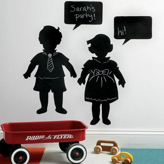 Vintage Kids Chalkboard Mural