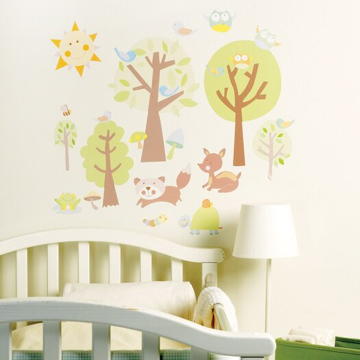 Animal Tales Wall Stickers