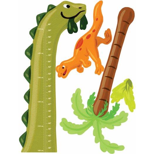 Wallies Wall Play Dino Growth Chart