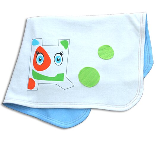 Tookee Organic Soccer Doggy Stroller Blanket