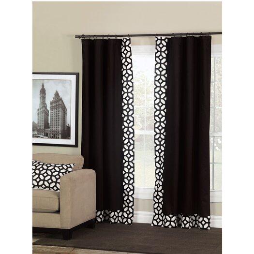 Niche Palmer Rod Pocket Curtain Panel