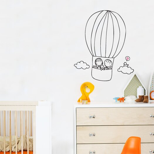 ADZif Piccolo Off We Go Wall Decal