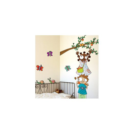 ADZif Ludo Apple Picking Wall Decal