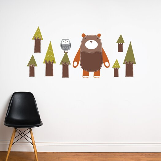 ADZif Piccolo Yuri the Bear Wall Sticker