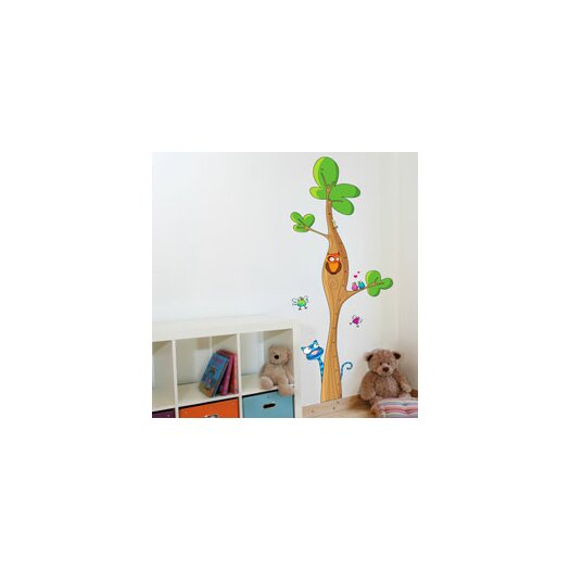 ADZif Ludo Tree Height Gauge Wall Decal