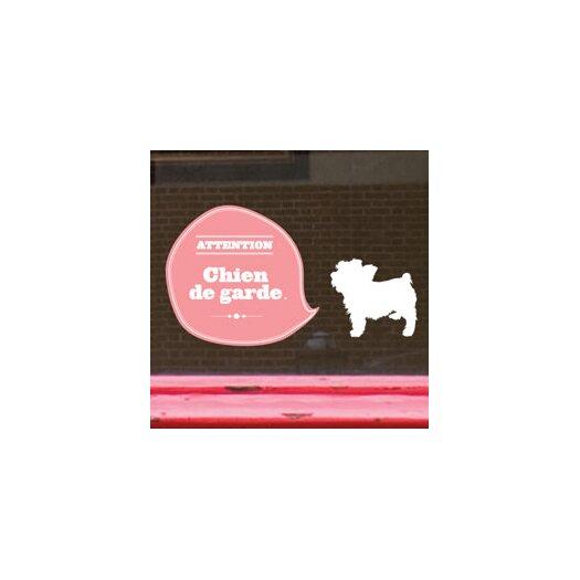 ADZif Signal Guard Dog Window Sticker