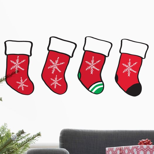 Christmas 2013 Stocking Decals