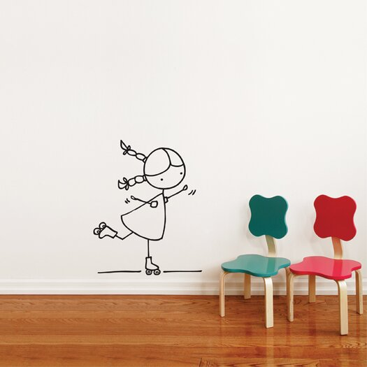 ADZif Piccolo Rollers Wall Decal
