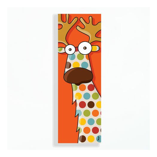 Canvas Reindeer Wall Decal