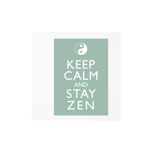 ADZif Blabla Stay Zen Wall Stickers