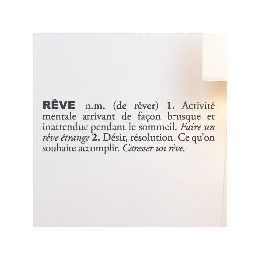 Blabla R�ve (French) Wall Decal