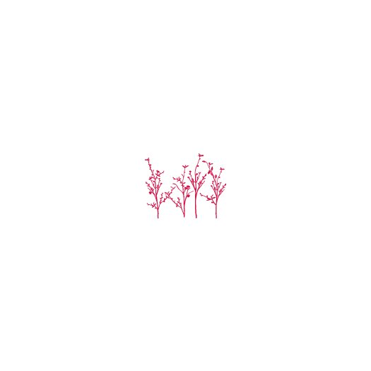 ADZif Spot Spring Branches Wall Decal