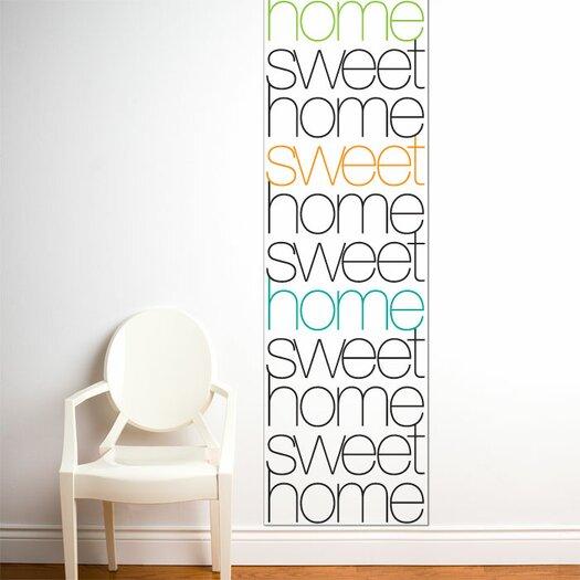 ADZif Unik Home Sweet Home Wall Decal