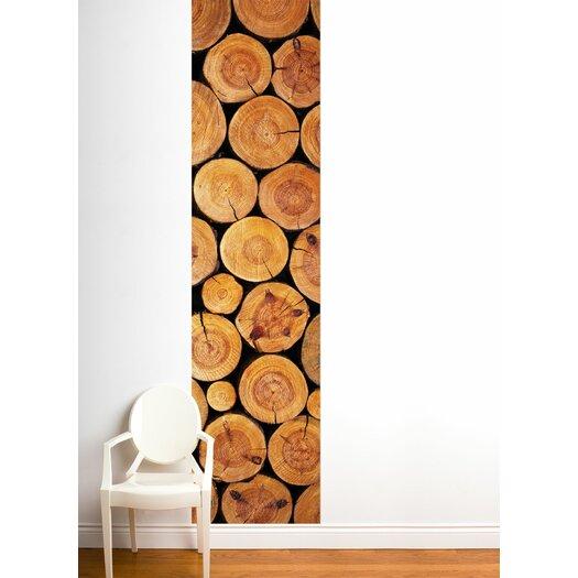 ADZif Unik Log Wall Decal