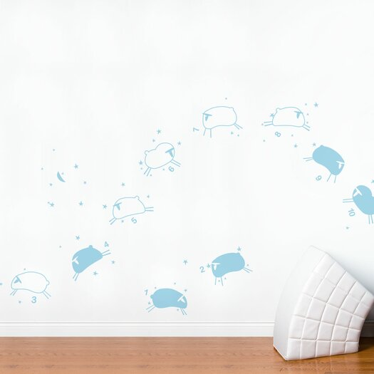 Piccolo Baby Sheep Wall Decal