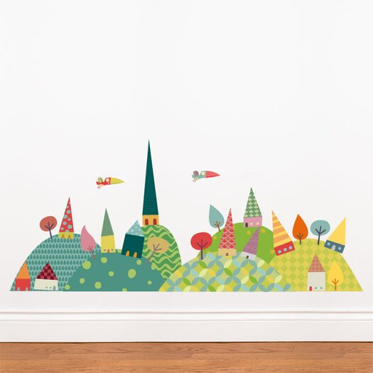 ADZif Piccolo Journey in the Countryside Wall Sticker