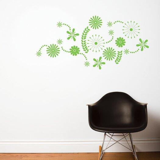 ADZif Spot Flower Power Wall Decal