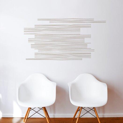 ADZif Spot Wooden Slats Wall Decal
