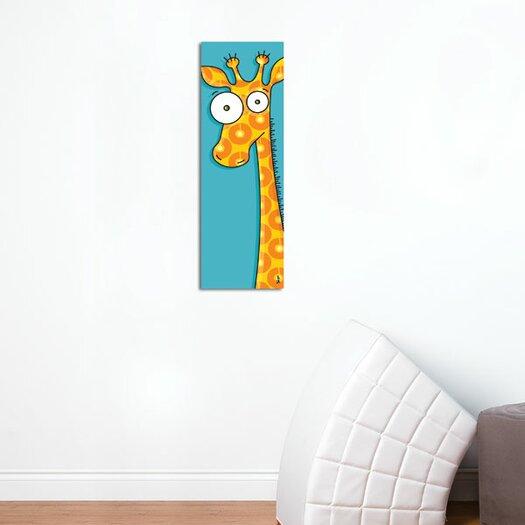 ADZif Canvas Giraffe Wall Decal