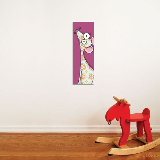 ADZif Canvas Mouse Wall Decal