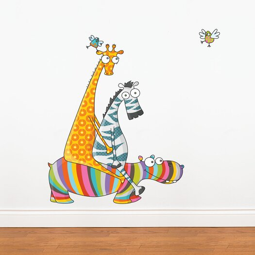 ADZif Ludo Friend's Day Out Wall Decal