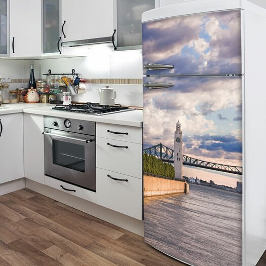 ADZif Domo On the Riverfront Wall Decal