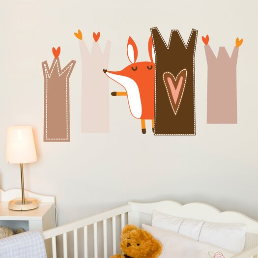 ADZif Piccolo Paolo Plays Hide and Seek Wall Sticker