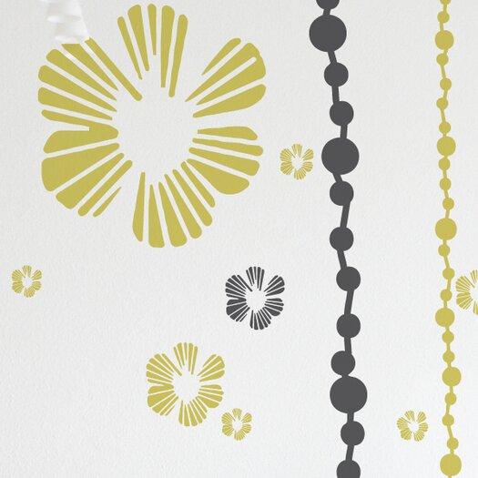 ADZif XXL Tumbling Blooms Wall Sticker