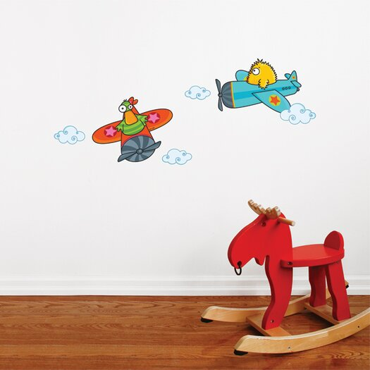 ADZif Ludo Quackety Flight Wall Decal