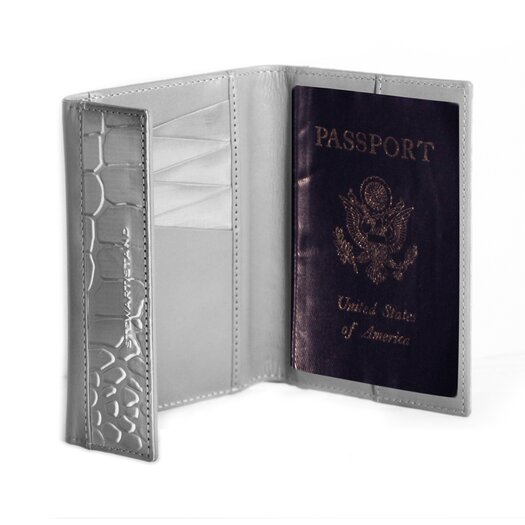 Stewart/Stand RFID Blocking Monochrome Passport Wallet