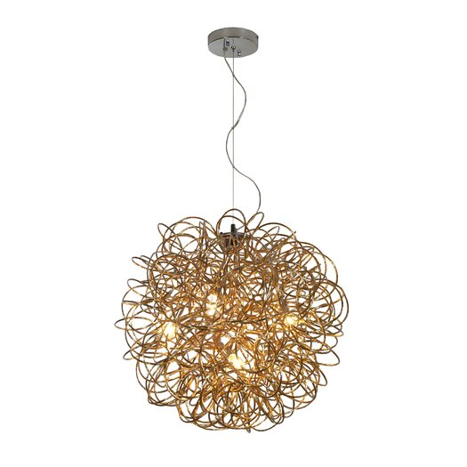 Trend Lighting Corp. Mingle 1 Light Pendant