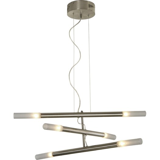Trend Lighting Corp. Cavelleto 6 Light Chandelier