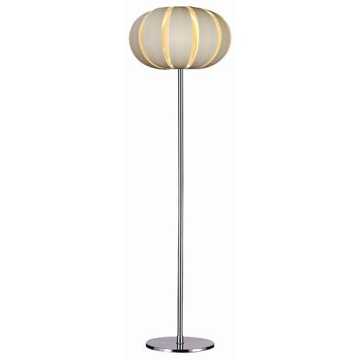Trend Lighting Corp. Pique 1 Light Floor Lamp