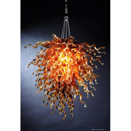 Trend Lighting Corp. Trapieze 6 Light Pendant