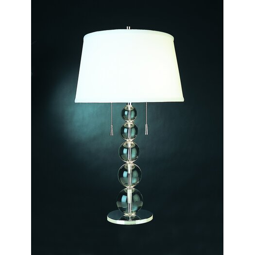 "Trend Lighting Corp. Palla 28.5"" H Table Lamp with Empire Shade"