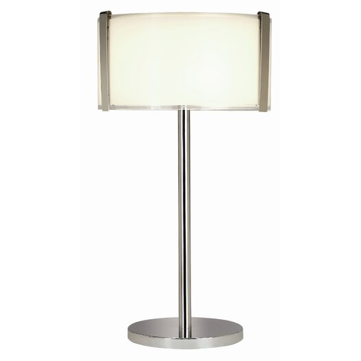 "Trend Lighting Corp. Apollo 26.25"" H Table Lamp with Rectangular Shade"