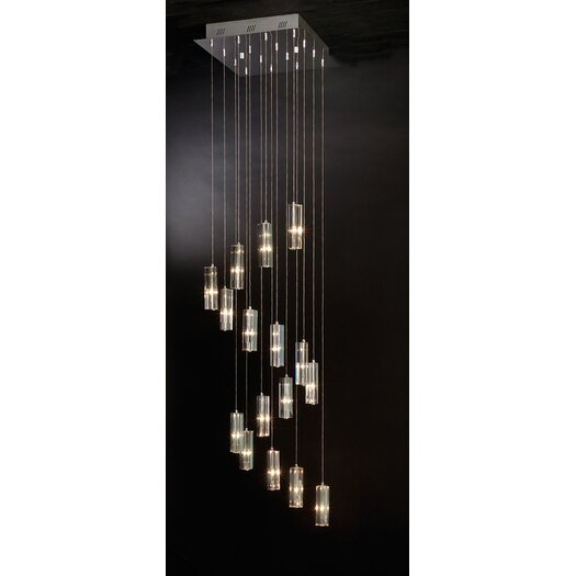 Trend Lighting Corp. Icarus 16 Light Chandelier