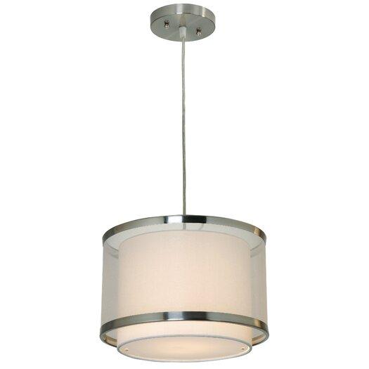 Trend Lighting Corp. Lux 1 Light Medium Drum Foyer Pendant