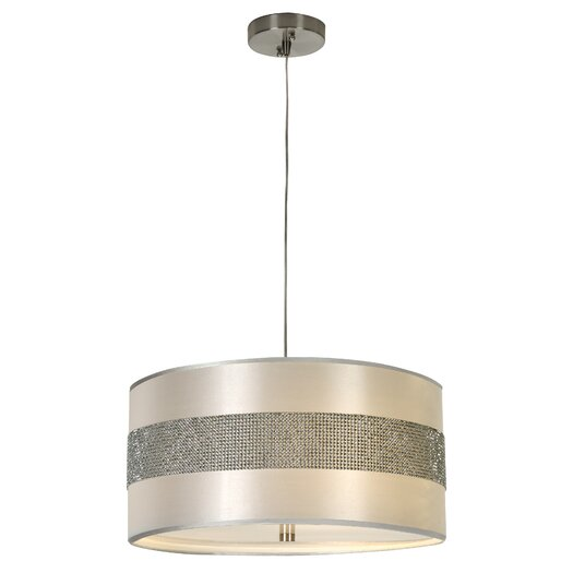 Trend Lighting Corp. Harmony 3 Light Drum Foyer Pendant