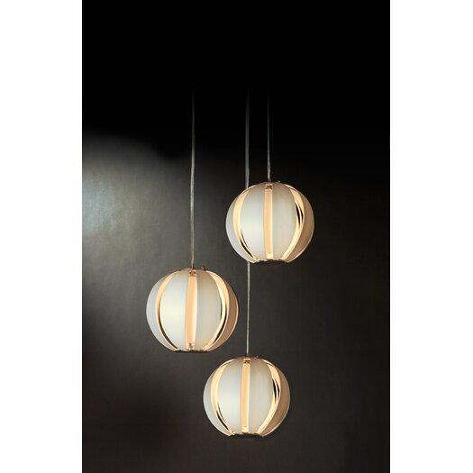 Trend Lighting Corp. Pique 3 Light Trio Pendant