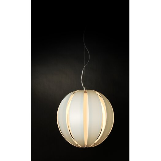 Trend Lighting Corp. Pique 1 Light Round Globe Pendant