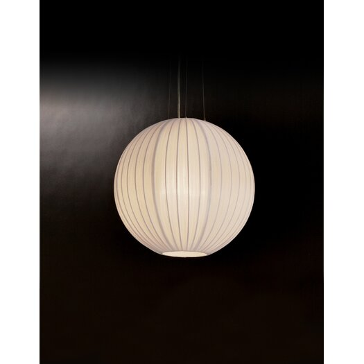 Trend Lighting Corp. Shanghai 1 Light Round Globe Pendant