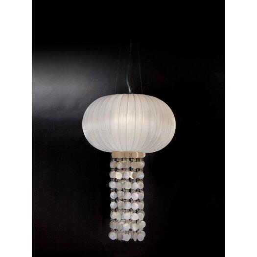 Trend Lighting Corp. Montego 1 Light Oval Chandelier