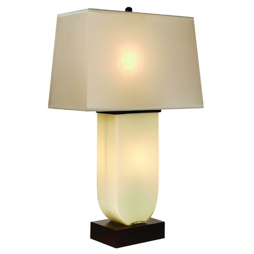 "Trend Lighting Corp. Aramis 32"" H Table Lamp with Rectangular Shade"