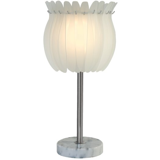"Trend Lighting Corp. Aphrodite 24"" H Table Lamp with Bowl Shade"
