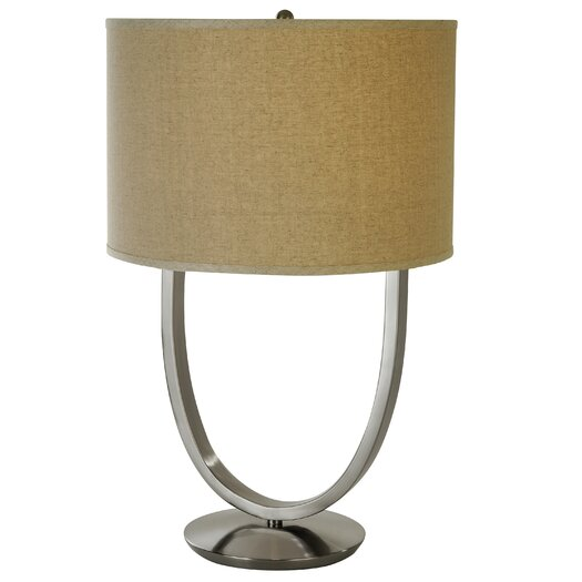 "Trend Lighting Corp. Dawn 30.5"" H Table Lamp with Oval Shade"