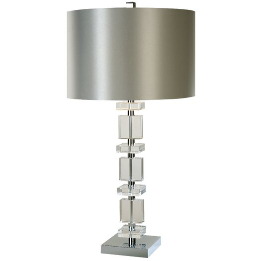 "Trend Lighting Corp. Tableau 32.5"" H Table Lamp with Drum Shade"